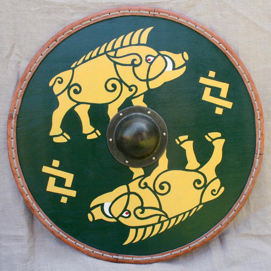 Odamus Disain: kingitus viikingikilp