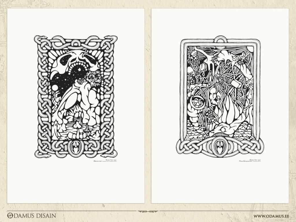 Odamus Disain: graafilised lehed 2