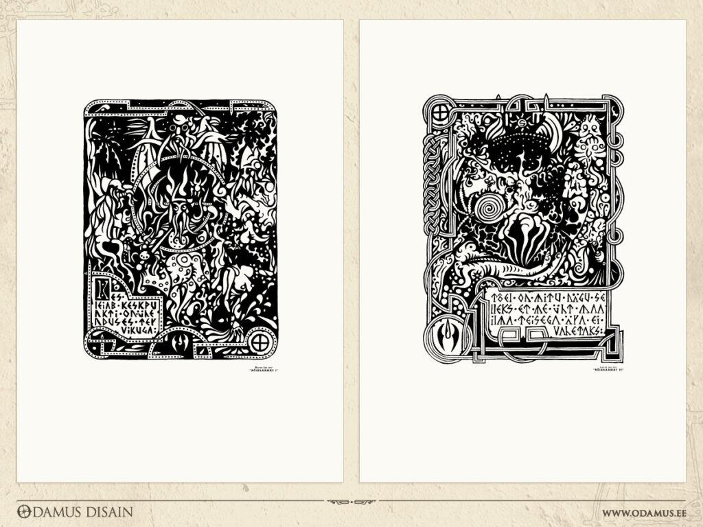 Odamus Disain: graafilised lehed