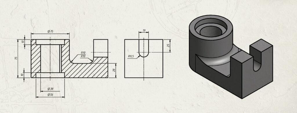 Odamus Disain: AutoCad tehniline joonestamine 3D