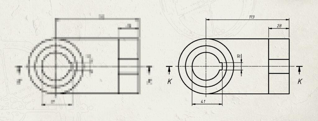 Odamus Disain: AutoCad tehniline joonestamine vektorfailid