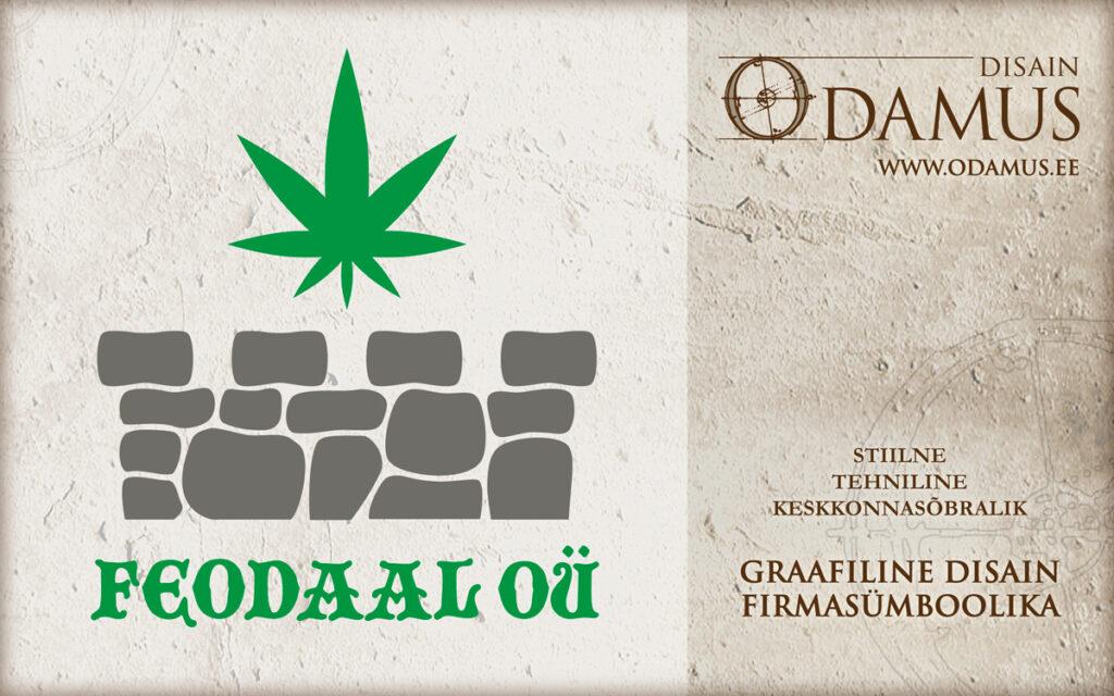 Odamus Disain: Logo kujundus Feodaal OÜ