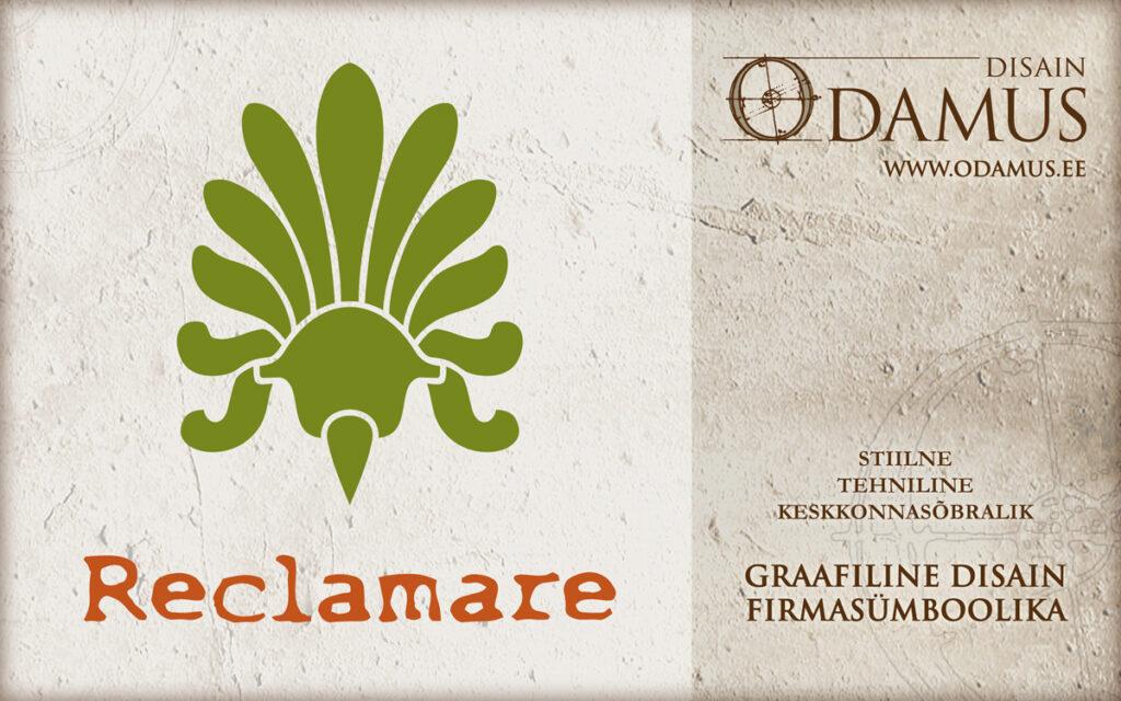 Odamus Disain: Logo Reclamare