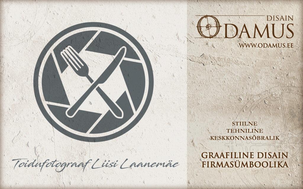 Odamus Disain: Logo Toidufotograafia