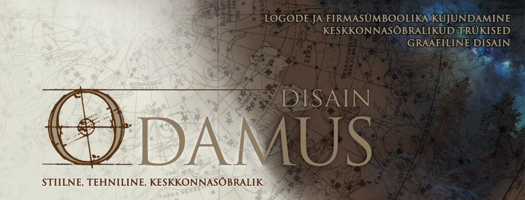 Odamus Disain: Graafiline disain, logode ja firmasümboolika kujundamine, keskkonnasõbralikud trükised