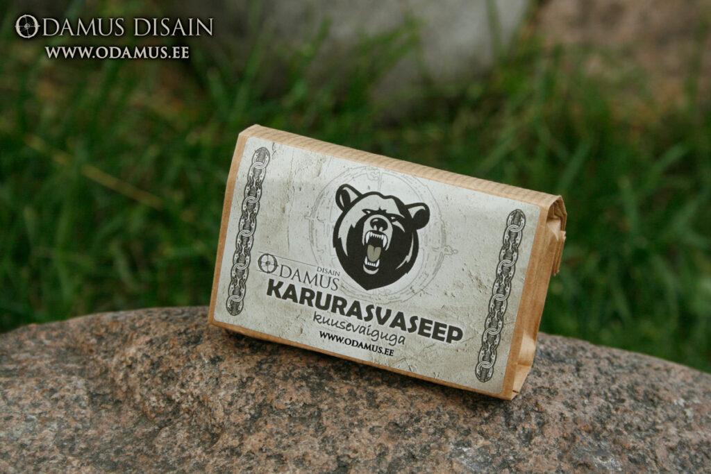Odamus Disain: stiilsed ärimeened karurasvaseep kivil