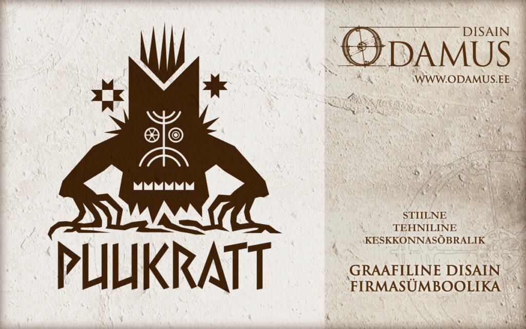 Odamus Disain: Logo Puukratt