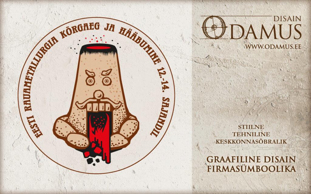 Odamus OÜ: Logo kujundus Eesti Rauametallurgia projektile