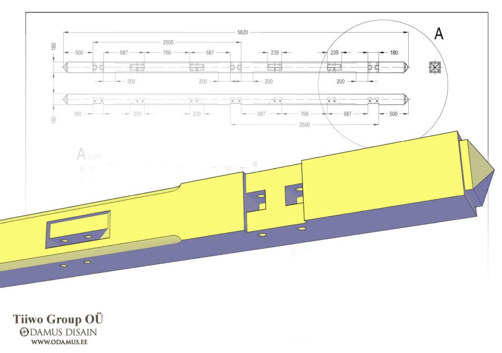 Odamus Disain: 3D mudel Tiiwo Group OÜ