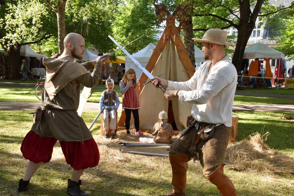 Kingi elamus - ajalooliste võitluskunstide treening